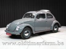 Volkswagen Kever Ovaal Ragtop '55