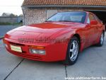 Porsche 944 S2 Red