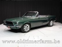 Ford Mustang V8 Bullit Convertible '68