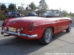 MG B  Red pull handle (1965)