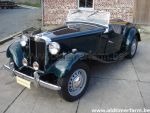 MG TD Green LHD 1952
