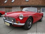 MG B red RHD 1972