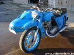 IZH 56 met sidecar  (1958)