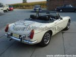 MG  B White RHD 1974 (1974)