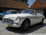 MG B White pull handle LHD