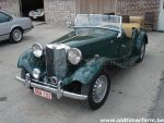 MG TD Green  RHD 1953