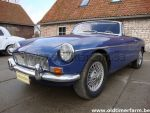 MG B Blue  LHD  1969
