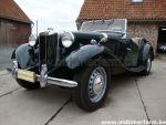 MG TD Green  LHD 1953