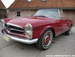Mercedes-Benz 230 SL Pagode Bordeaux