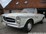 Mercedes-Benz 280 SL pagode White
