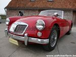 MG A red 1600 1960