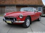 MG B red LHD 1971