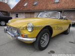 MG B Inca Yellow 1980