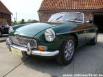 MG B green LHD 1970  (1970)