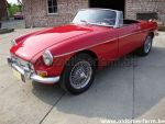 MG B red LHD 1963