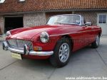 MG B red LHD 1975