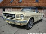 Ford Mustang Cabriolet Yellow