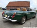 MG B green  LHD 1969 (1969)