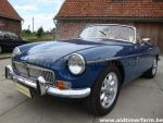 MG B Blue LHD 1972