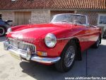 MG B  red LHD 1969