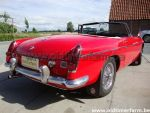 MG B  red LHD 1969 (1969)