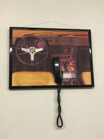 Ferrari 400: wall phone